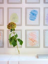 hanging kids artwork hanging kids art is your next big art moment architectural digest