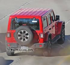 2017 silver jeep rubicon first look at body color painted hard top on 2018 jeep wrangler jl