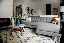 West Elm Sectional Sofa Kristen F Davis Designs West Elm Sofa Exchange