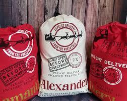 personalized santa sack personalized santa sack canvas santa sack santa sack