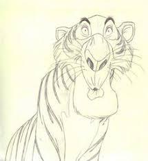 disney sketch of jungle book characters paintings u0026 drawings