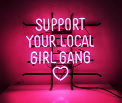 Bedroom Bar New Custom Neon Sign Pink Room Decor U0027support Your Local Bang