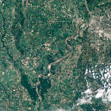 Mississippi River United States Map by Mississippi River Well Below Normal Image Of The Day