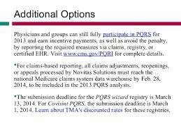 pqrs registries avoid the pqrs penalty