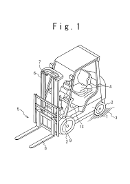 patent us7278508 control system of industrial truck and