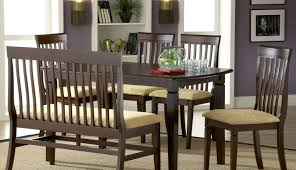 bench style dining room tables dining tables kitchen table with
