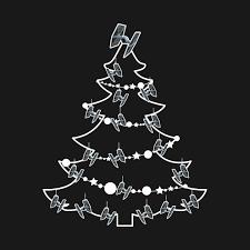 wars christmas tie fighter sat wars christmas tree baubles wars t shirt