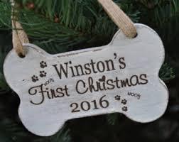 puppy ornament etsy