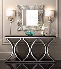 console table evans black and gold storage console table tn the