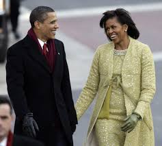 spotted barack and michelle obama arrive in the british virgin