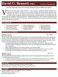 Operations Executive Resume Examples by Marvellous Ideas Executive Resume Examples 1 Executive Resume