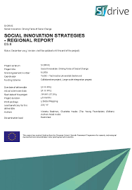 changement si e social social innovation investment our work the foundation