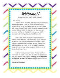 Thanksgiving Welcome Speech A Welcome Note To Introduce Yourself To Parents At The Beginning Of