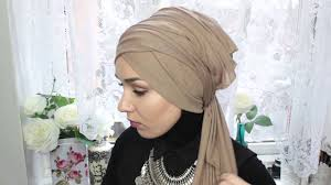 tutorial hijab nabiilabee turban tutorial nabiilabee youtube