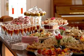 Christmas Dinner Centerpieces - home design alluring decorating a buffet table for party