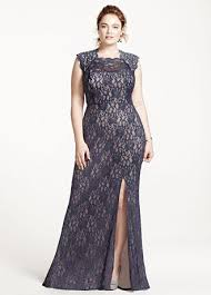 Cap Sleeved Crepe Sheath Wedding Dress David U0027s Bridal Bridesmaid Dresses Plus Size Oasis Amor Fashion