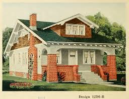 brick bungalow house plans from central lumber u0027s house plan book 1920 house exteriors
