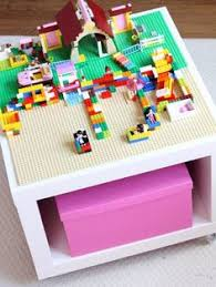 Diy Lego Table by Fun With Ikea And Lego Of Course A Easy To Diy Lego Table That U0027s