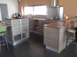 plan de travail cuisine hetre chambre cuisine bois sur mesure dans le 35 natur meubles
