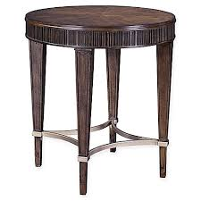 broyhill end table with usb broyhill cashmera round l table in maple bed bath beyond