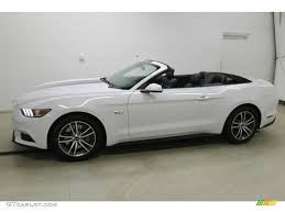 white ford mustang convertible 2016 oxford white ford mustang gt premium convertible 108824442