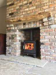 what is the installation process for fitting a wood burning stove