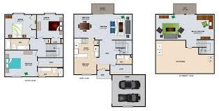 3 bedroom flat plan drawing 1 2 u0026 3 bedroom apartments in west bloomfield aldingbrooke