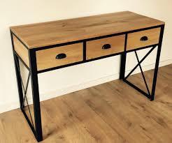 console 3 tiroirs console 3 tiroirs style loft indus