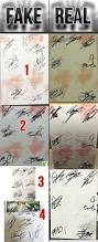 how to spot a fake signed autographed bts album cafarnaum box