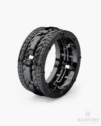 mens black diamond wedding bands ropes mens black rhodium gold wedding band with 1 05 ct black