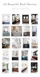 Horchow Bathroom Vanities by 23 Beautiful Bathroom Vanitiesbecki Owens