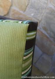 Cushion Covers For Patio Furniture How To Make An Outdoor Cushion Cover Out Of A Drop Cloth Outside