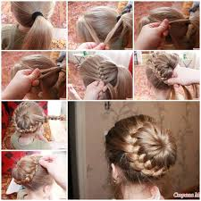 braid hair styles pictures diy unique braided bun hairstyle