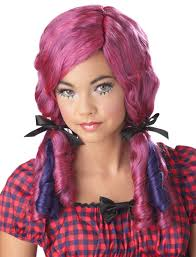 halloween doll wig sandi pointe u2013 virtual library of collections