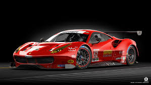 ferrari art ferrari 488 gt3 front by dangeruss on deviantart