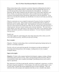 Sample Resume With Objective by Beginning Resume Objective Statements Ecordura Com