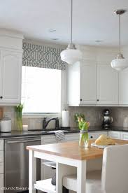 how to paint kitchen cabinets a burst of beautiful our home tour white farmhouse kitchens white farmhouse and block