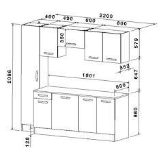 dimensions meubles cuisine dimension meuble de cuisine urbantrott com