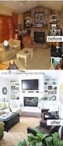 20 awesome before and after living room makeovers 2017 bright and airy transformation for living room