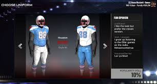 madden nfl 17 franchise mode houston relocation team guide