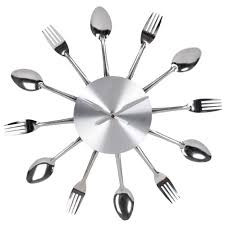 pendule originale pour cuisine horloge pour cuisine stickoo