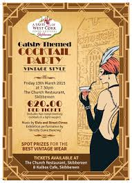 vintage cocktail party a taste of west cork food festival presents a great gatsby themed