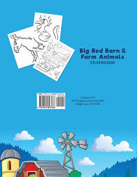 The Big Red Barn Book Big Red Barn And Farm Animals Coloring Book Coloring Pages For