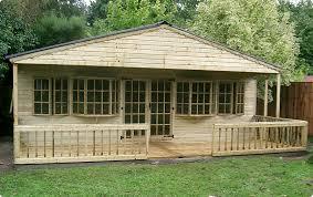 Garden Shed Summer House - garden summerhouses deal u0026 cedar buildings kent uk