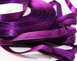 purple satin ribbon purple satin ribbon 3 wide ribbon by yard single faced