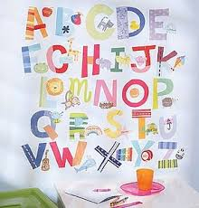 Alphabet Wall Decals For Nursery Removable Alphabet Wall Decals Letter Stickers Alphabet Decals For