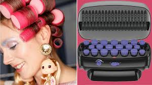 how to put rollersin extra short hair 12 best hair rollers and how to use them to create curls allure