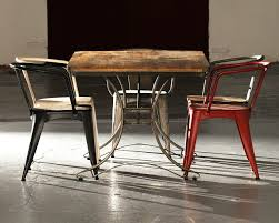 industrial furniture cosy looks with modern furnishings modern
