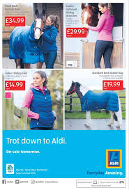 Aldi Outdoor Rug Aldi Is Launching Range Of Horse Riding Gear Which Costs Less Than