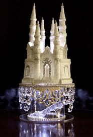cinderella castle cake topper cinderella castle cake topper wedding fairytale with swarovski